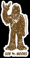SOB Hearts Wooks Sticker